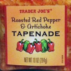 Trader Joe's Roasted Red Pepper & Artichoke Tapenade