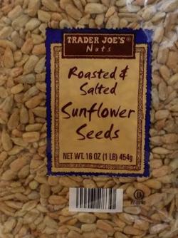 Trader Joe's Roasted & Salted Sunflower Seeds