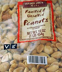 Trader Joe's Roasted & Unsalted Peanuts