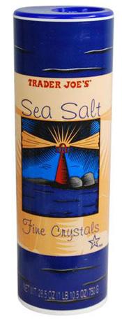 Trader Joe's Sea Salt Fine Crystals