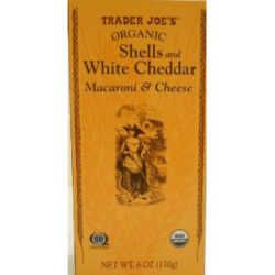 Trader Joe's Organic Shells & White Cheddar Macaroni and Cheese