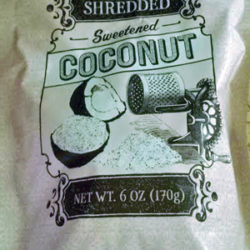 Trader Joe's Shredded Coconut
