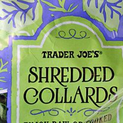 Trader Joe's Shredded Collard Greens