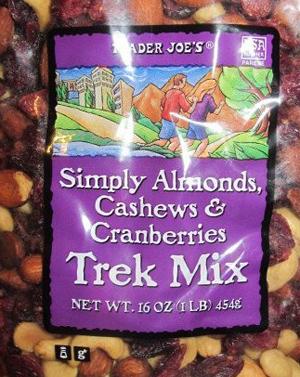 Trader Joe's Simply Almond, Cashew & Cranberry Trek Mix