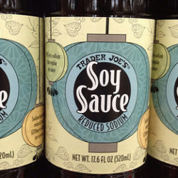 Trader Joe's Soy Sauce Reduced Sodium