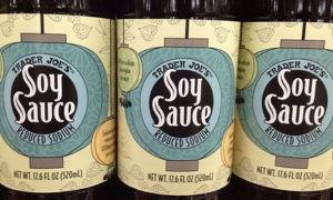 Trader Joe's Soy Sauce Reduced Sodium
