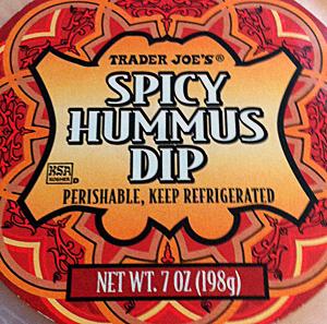 Trader Joe's Spicy Hummus Dip