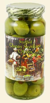Trader Joe's Stuffed Queen Sevillano Olives