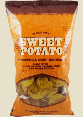 Trader Joe's Sweet Potato Tortilla Chip Rounds