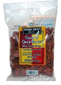 Trader Joe's Sweet & Spicy Pecans