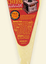 Trader Joe's Toscano Cheese with Cinnamon