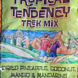 Trader Joe's Tropical Tendency Trek Mix