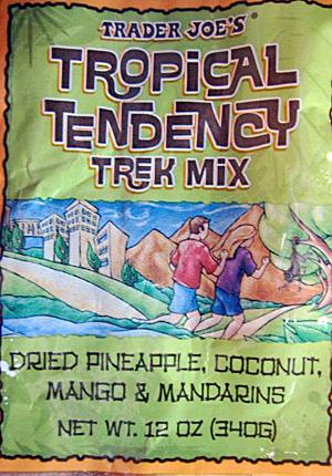 Trader Joe's Tropical Tendency Trek Mix