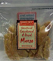 Trader Joe's Unsulfured Sweetened & Dried Mango