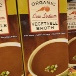 Trader Joe's Organic Low Sodium Vegetable Broth