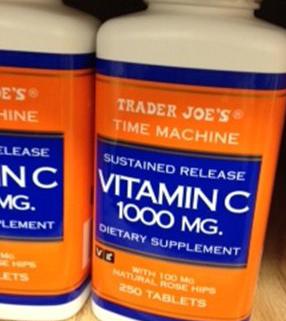Trader Joe's Vitamin C 1000 MG