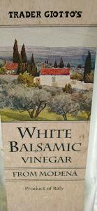 Trader Joe's White Balsamic Vinegar