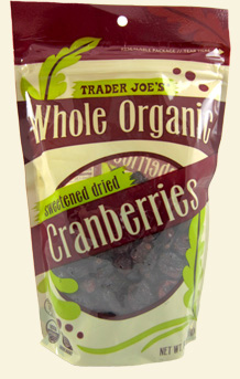 Trader Joe's Whole Organic Dried Cranberries
