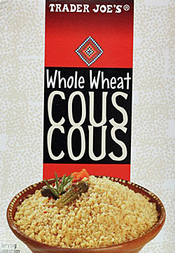 Trader Joe's Whole Wheat Couscous