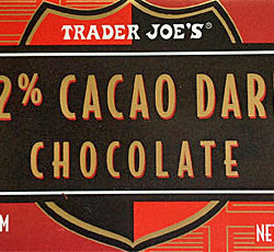 Trader Joe's 72% Dark Chocolate Bar