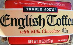 Trader Joe's English Toffee With Milk Chocolate