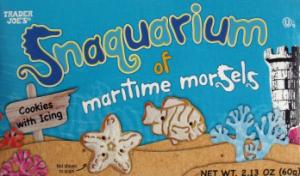 Trader Joe's Snaquarium of Maritime Morsels