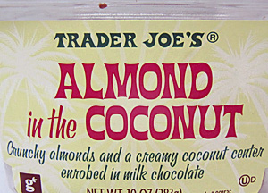 Trader Joe's Almond in the Coconut