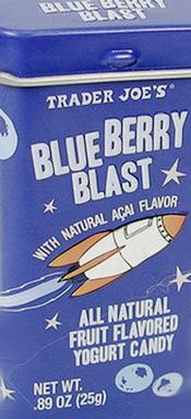 Trader Joe's Blueberry Blasts Yogurt Candy