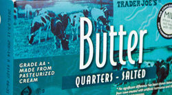Trader Joe's Salted Butter Quarters