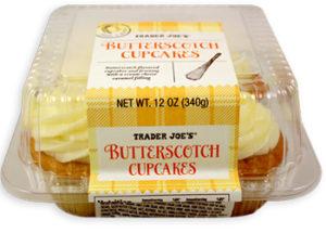 Trader Joe's Butterscotch Cupcakes