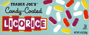 Trader Joe's Candy-Coated Licorice