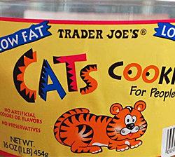 Trader Joe's Cats Cookies