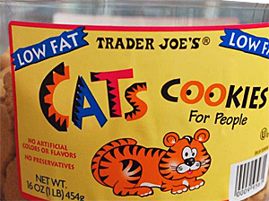 Trader Joe's Cats Cookies
