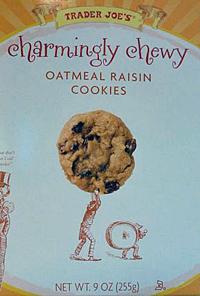 Trader Joe's Charmingly Chewy Oatmeal Raisin Cookies