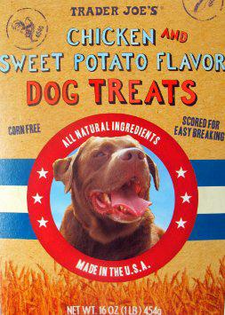 Trader Joe's Chicken & Sweet Potato Dog Treats