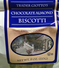 Trader Joe's Chocolate Almond Biscotti