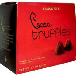 Trader Joe's Cocoa Truffles