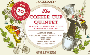 Trader Joe's Coffee Cup Quintet