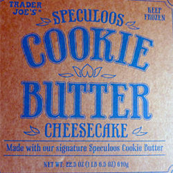 Trader Joe's Cookie Butter Cheesecake