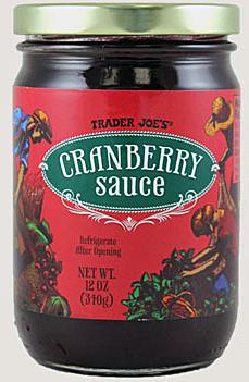 Trader Joe's Cranberry Sauce