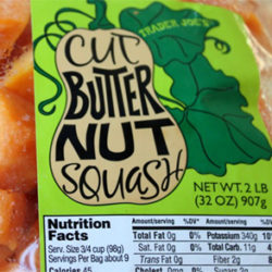 Trader Joe's Cut Butternut Squash