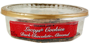 Trader Joe's Dark Chocolate Almond Lacey's Cookies
