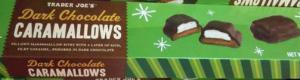 Trader Joe's Dark Chocolate Caramallows