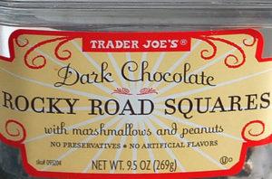 Trader Joe's Dark Chocolate Rocky Road Squares