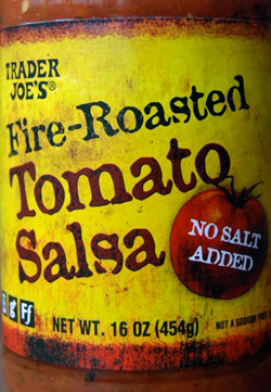 Trader Joe's Fire Roasted Tomato Salsa