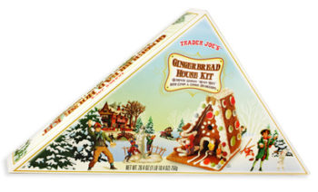 Trader Joe's Gingerbread House Kit