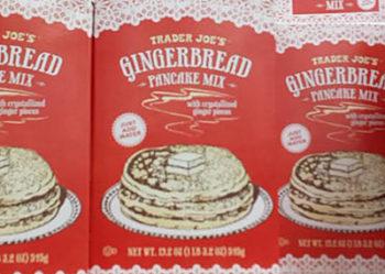 Trader Joe's Gingerbread Pancake Mix