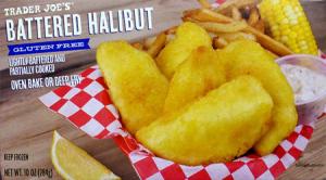 Trader Joe's Gluten-Free Battered Halibut