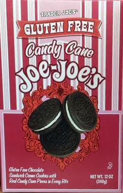 Trader Joe's Gluten-Free Candy Cane Joe Joe's