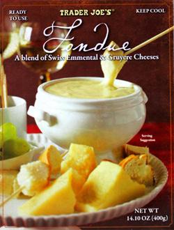 Trader Joe's Swiss & Gruyere Cheese Fondue